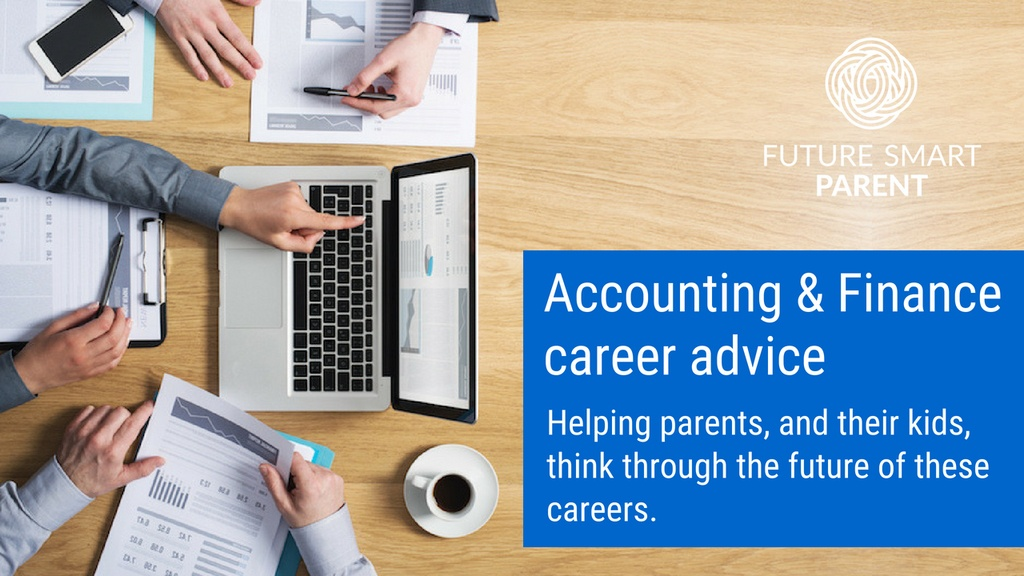 Accounting and finance career advice