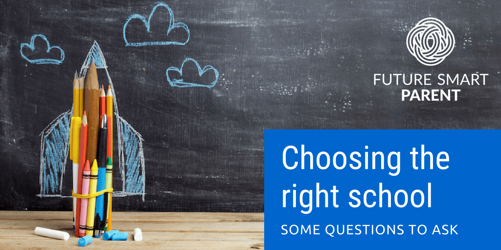 Choosing the right school for your kids