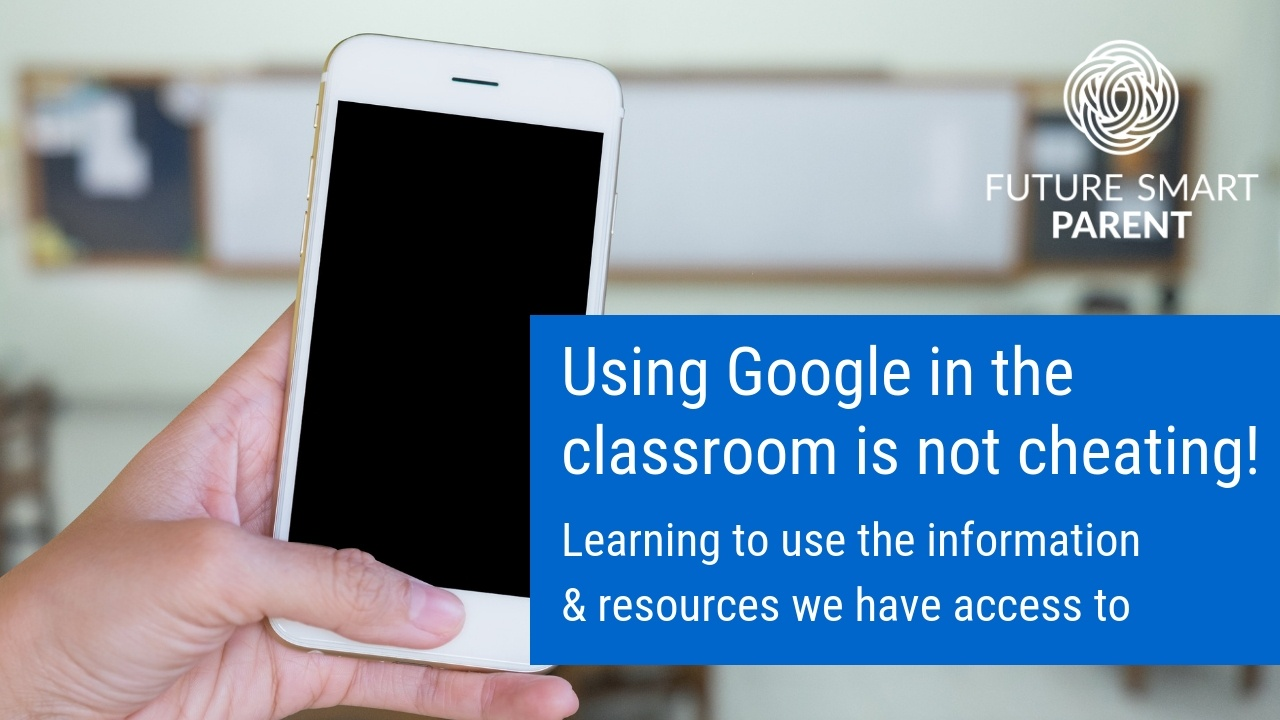 Why using Google in the classroom isn't cheating